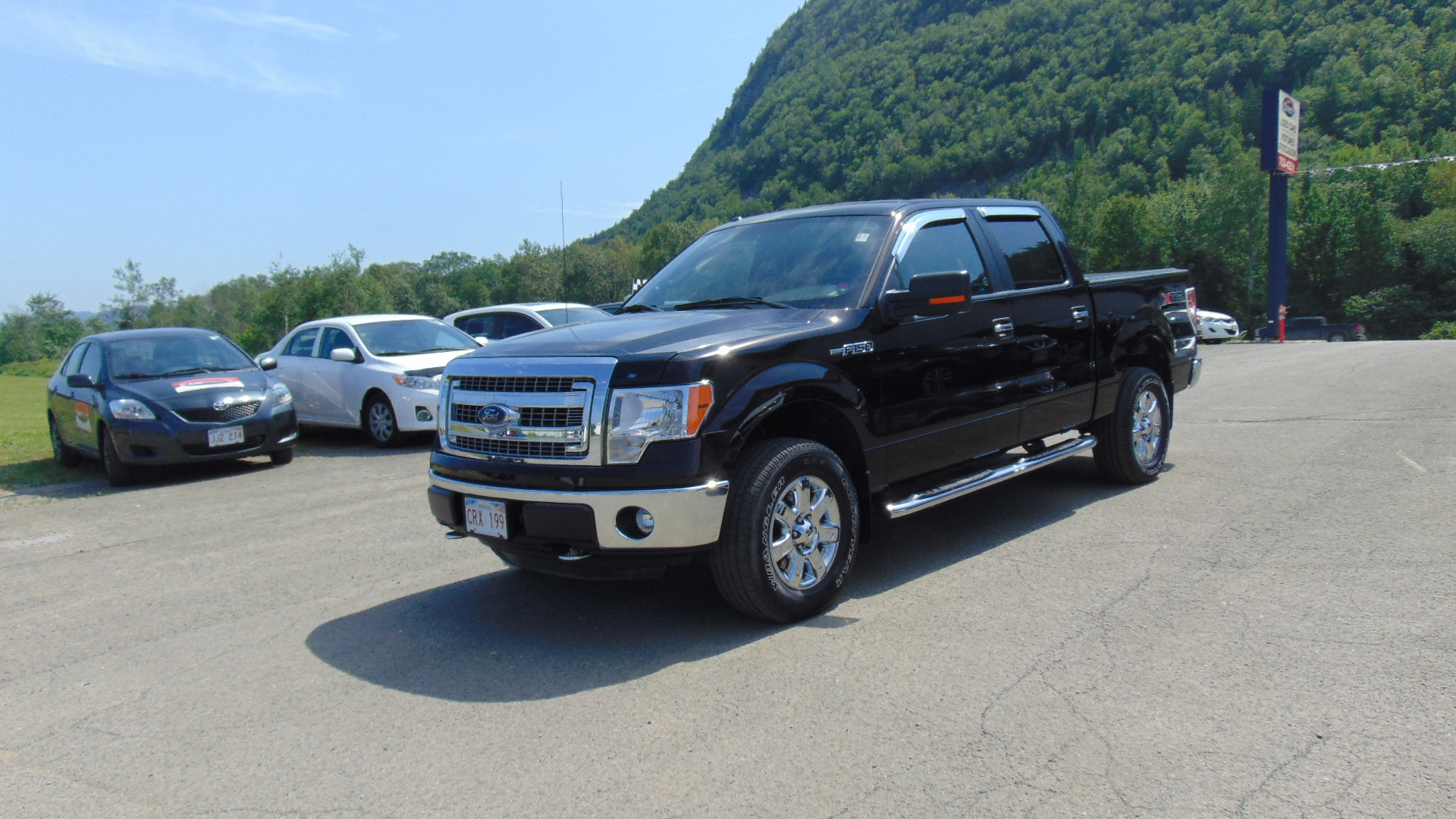 2014 ford f 150 supercrew xtr campbellton auto direct for Miroir ford f 150